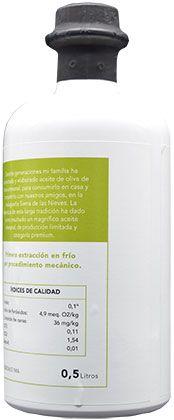 Aceite de oliva ecológico premium 06