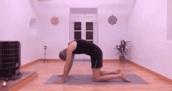 Clase de yoga online gratis