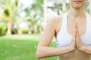 Yoga en casa. Samasthiti