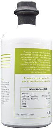 Aceite de oliva ecológico premium 04